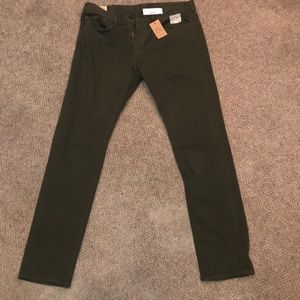 Olive Colored J Crew Pants